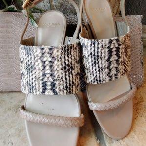 Cole Haan Snakeskin sandals